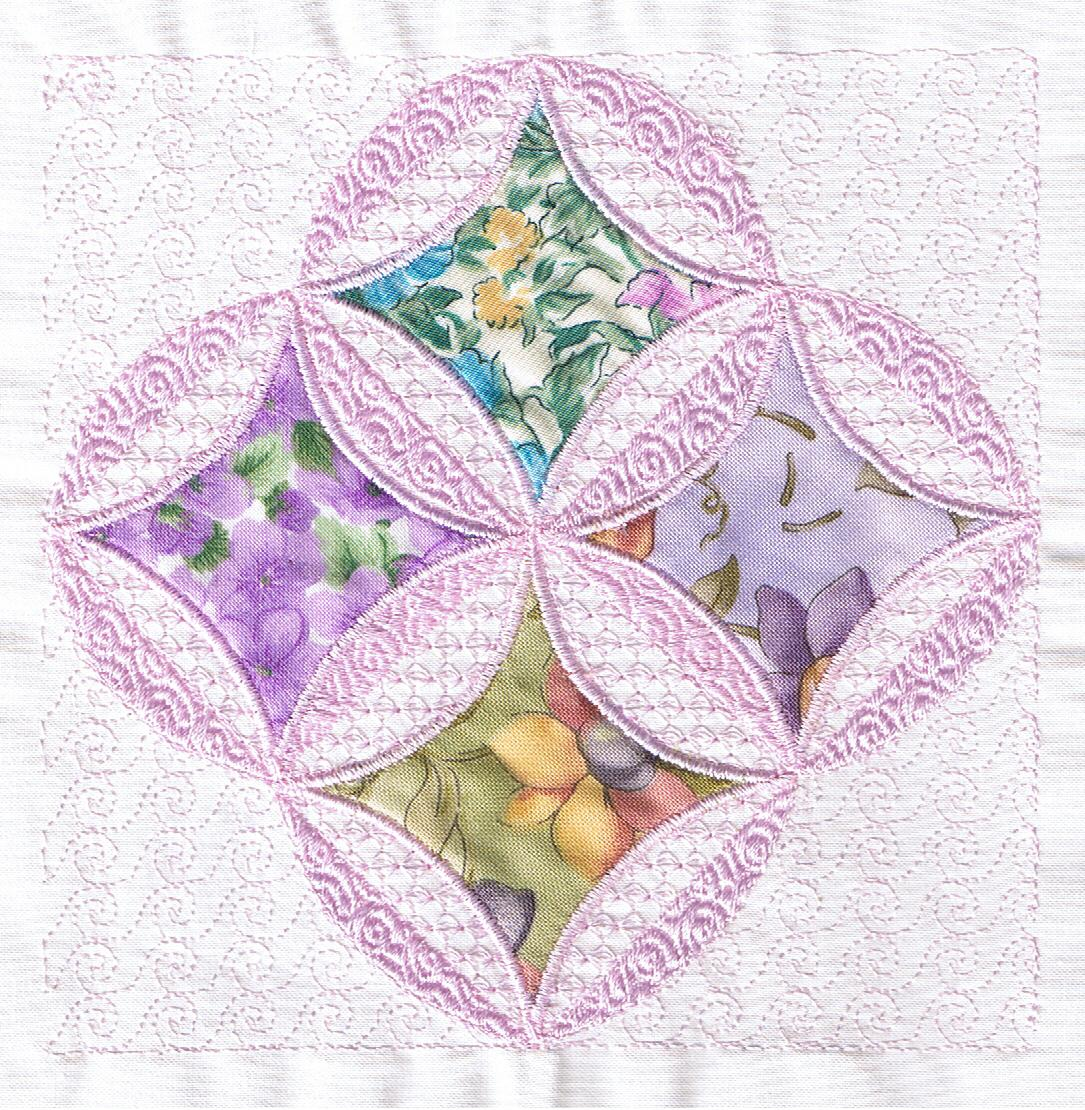 cathedral windows quilt tutorial | Flickr - Photo Sharing!